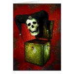 Haga frente a su tarjeta de Halloween de los miedo
