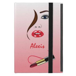 Haga frente al lápiz labial en caso del iPad del iPad Mini Cobertura