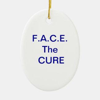 Haga frente al ornamento de la curación ornato