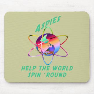 Haga girar el mundo Mousepad