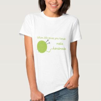 Haga Hecho a mano-Verde Camisas