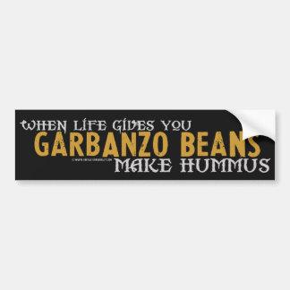 Haga Hummus Etiqueta De Parachoque