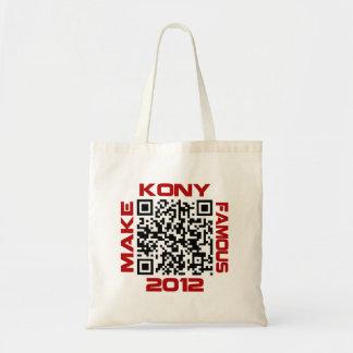 Haga Kony el código video famoso José Kony de 2012 Bolsa Tela Barata