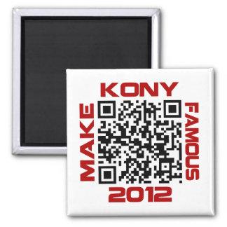 Haga Kony el código video famoso José Kony de 2012 Imanes Para Frigoríficos