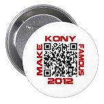 Haga Kony el código video famoso José Kony de 2012 Pins