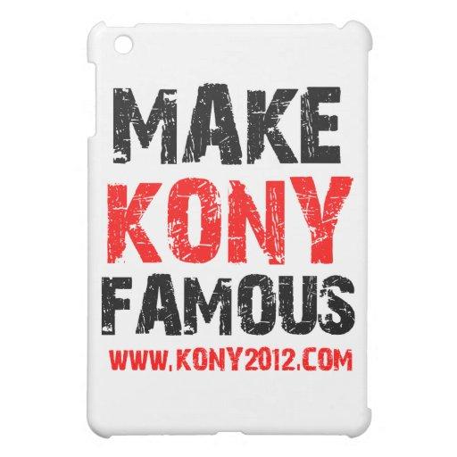 Haga Kony famoso - Kony 2012