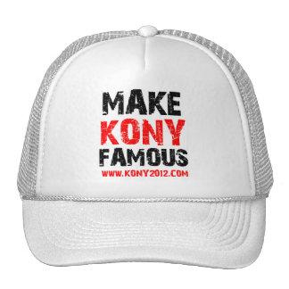 Haga Kony famoso - Kony 2012 Gorros Bordados