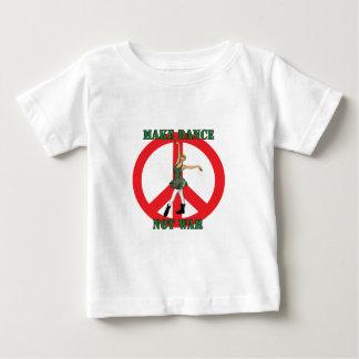 haga la camiseta del niño de la guerra de la danza camisas