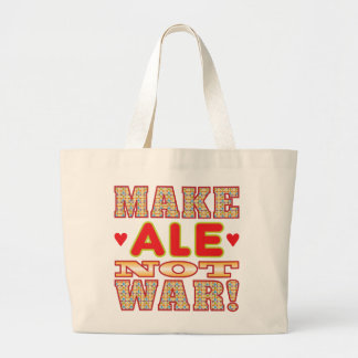 Haga la cerveza inglesa v2b bolsa lienzo
