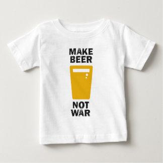Haga la cerveza, no guerra playera