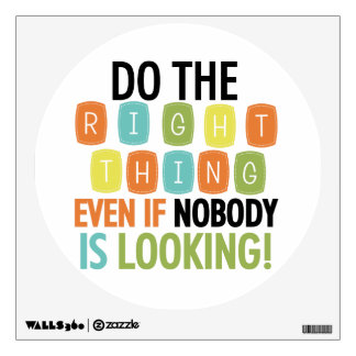 Haga la cosa correcta