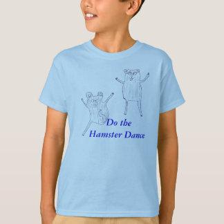 Haga la danza del hámster playeras