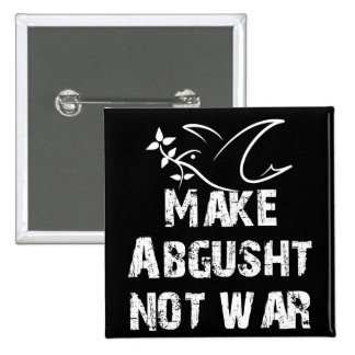 Haga la guerra de Abgusht no Pin Cuadrada 5 Cm