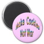 haga la guerra de las galletas no iman de nevera