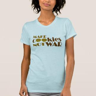 Haga la guerra de las galletas no camisetas