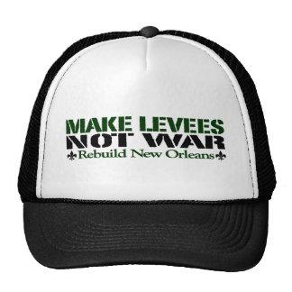Haga la guerra de los diques no gorros
