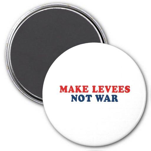 Haga la guerra de los diques no imán redondo 7 cm