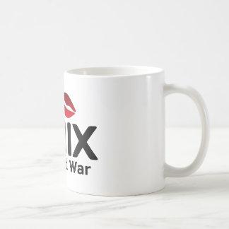 Haga la guerra de UNIX no Tazas