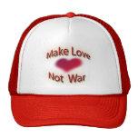 haga la guerra del amor no gorros