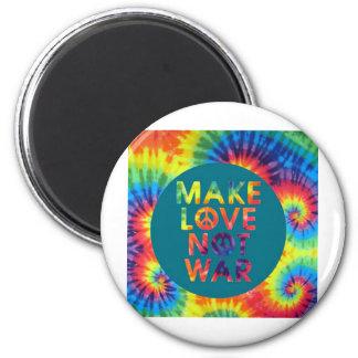 haga la guerra del amor no imán redondo 5 cm