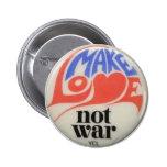 Haga la guerra del amor no pin