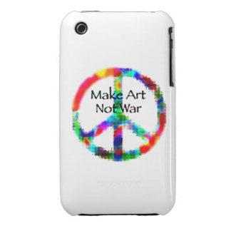Haga la guerra del arte no iPhone 3 Case-Mate cobertura