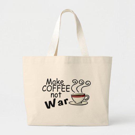 Haga la guerra del café no bolsa