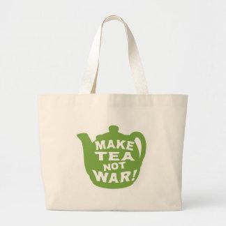 ¡Haga la guerra del té no! Bolsa De Mano