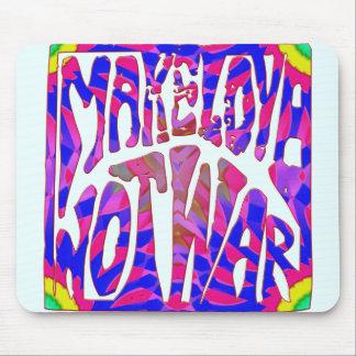 Haga la guerra Mousepad del amor no