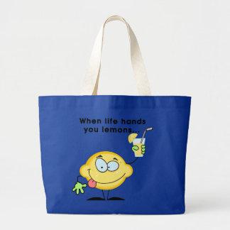 Haga la limonada bolsas de mano