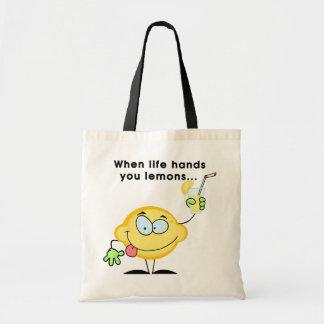 Haga la limonada bolsa de mano