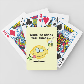 Haga la limonada baraja de cartas