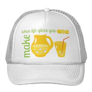 Haga la limonada gorro
