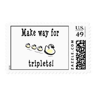 Haga la manera para el sello de los tríos