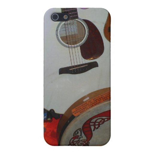 Haga la música iPhone 5 funda