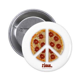 """""""Haga la pizza, botones no de la guerra"""" Pins"""
