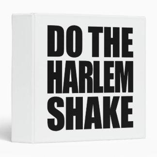 "Haga la sacudida de Harlem Carpeta 1 1/2"""