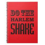 Haga la sacudida de Harlem Cuadernos