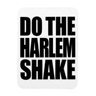 Haga la sacudida de Harlem Imanes