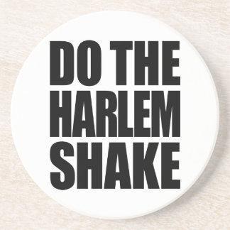 Haga la sacudida de Harlem Posavaso Para Bebida
