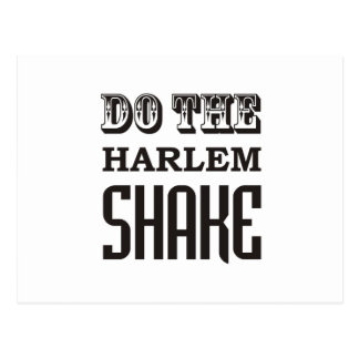 Haga la sacudida de Harlem Tarjetas Postales