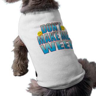 Haga la vida pequenita B Playera Sin Mangas Para Perro
