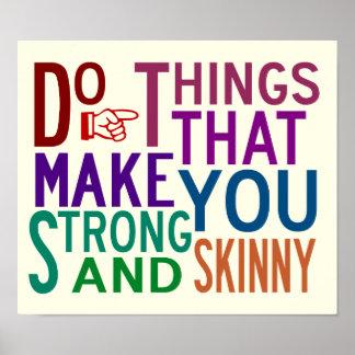 Haga las cosas - poster de la inspiración