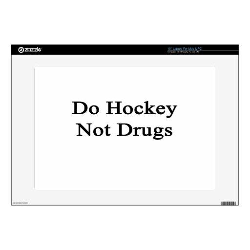 Haga las drogas del hockey no skins para 38,1cm portátil