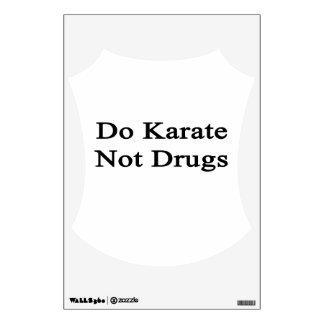 Haga las drogas del karate no