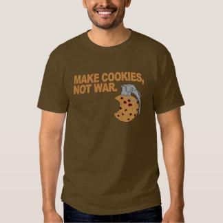 Haga las galletas, no guerra poleras