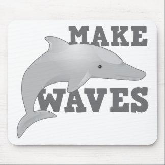 HAGA LAS ONDAS con el delfín Tapete De Ratón