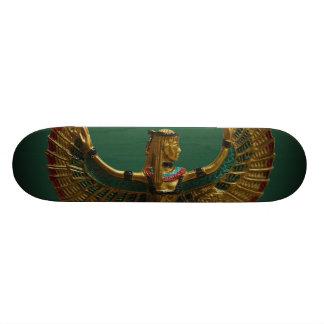 Haga las ondas el monopatín egipcio del ángel skateboard