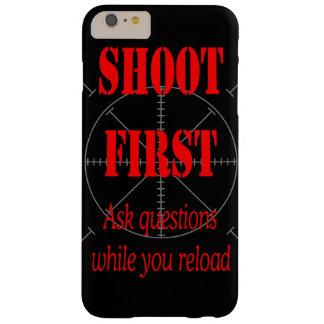HAGA LAS PREGUNTAS MIENTRAS QUE RECARGA FUNDA PARA iPhone 6 PLUS BARELY THERE