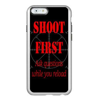 HAGA LAS PREGUNTAS MIENTRAS QUE RECARGA FUNDA PARA iPhone 6 PLUS INCIPIO FEATHER SHINE